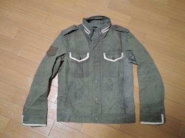 ロアーroarカスタムシャツジャケット2ラインストーン2丁拳銃