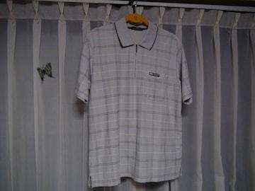 MICHIKO LONDONのポロシャツ(L)グレー !。