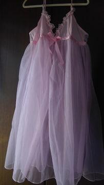 3Lサイズ!ウエディングドレス見たい!胸下チュール重ね着!ふわり!ロングスリップ!