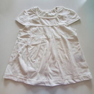 白無地、半袖Tシャツ95