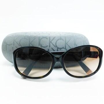 美品CKカルバンクライン サングラス ブラウン ck4169SA 正規品