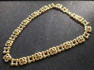 新品アンティーク調 金色のネックレス