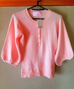 PJ カシミヤ 100% ニット トップス 洋服 セーター 七分袖 カシミ