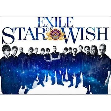 即決 EXILE STAR OF WISH 豪華盤 (CD+3DVD) 新品