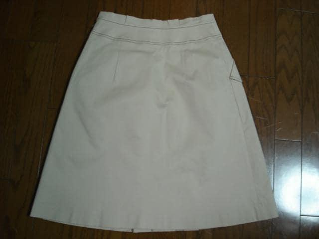 ★エフデ ef-de 大人かわいいデザインスカート★クイーンズ < ブランドの