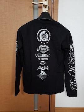 RUSS・K ラスケー 長袖 Tシャツ バックプリント ブラック S