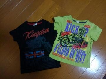 ☆新品同様☆半袖Tシャツ☆2枚セット☆100