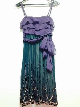 グレースコンチネンタル ドレス パープル