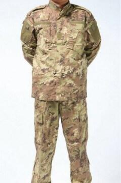 未使用品 イタリア軍特殊部隊用デジタル迷彩戦闘服上下セット