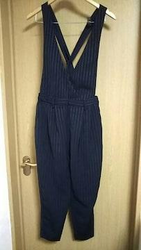 GU☆Mサイズ☆ストライプ柄パンツ☆
