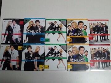 DVD[海外ドラマ/完結]CHUCK/チャック コンパクトBOX全5シーズン