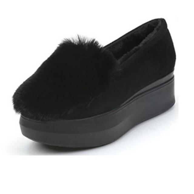 TA94即決 新品 厚底 ファー パンプス 黒 23.0 エスペランサ R&E ザラ 好きに < 女性ファッションの