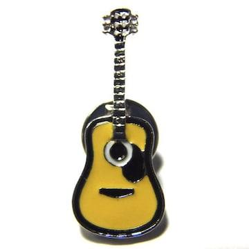 アコースティックギター ラペルピン ブローチ ピンバッジ アコギ