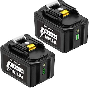 マキタ 18v バッテリー BL1890B 互換品 18v 9A.h