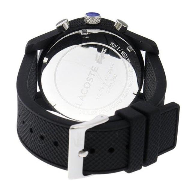 新品 即買い■ラコステ LACOSTE メンズ腕時計 2010821 ブラック < ブランドの