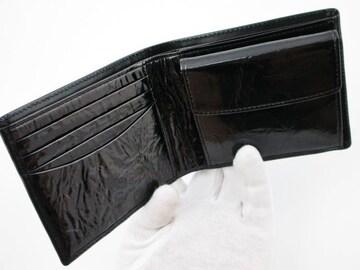 新品☆ポールスミス メタリックインサイド二つ折り財布 1fu