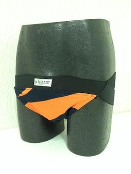 ジョグストラップ9橙紺黒1クリックポスト164円配送可能
