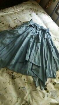 フレアーたっぷりミニ丈 スカート