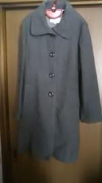 *新品*グレー*デザイン可愛いコート*