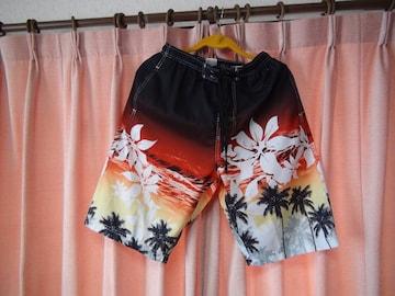 DIX-CLOCHEのサーフパンツ(L)ハワイの夕日色、新品タグ付き!。