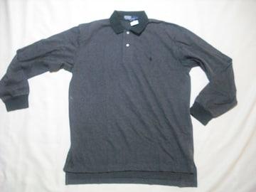 12 男 POLO RALPH LAUREN ラルフローレン 長袖ポロシャツ L