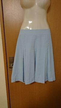 W73 / きれいな水色スカート美品