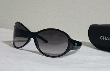 正規 hyde着 シャネルCHANEL ココマークスタッズロゴサングラス黒×紫 ロックBOX ハイド