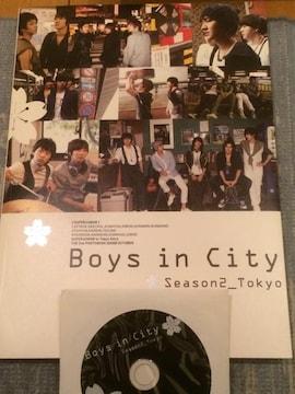 激安!激レア!☆SUPER JUNIOR/Boys in City☆写真集+DVD☆美品☆