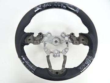 マツダ 黒木目調 ガングリップ ステアリングCX-5 CX-3 アテンザ デミオ
