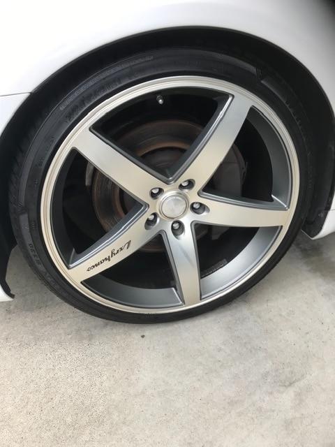 レクサスLS460!21アルミ+タイヤ4本セット! < 自動車/バイク