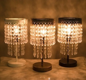シャンデリアヨーロピアン調 ランプ 間接照明 テーブルランプ