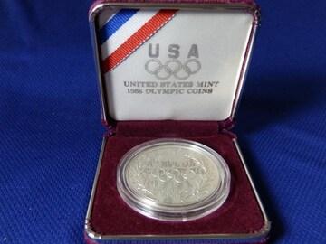 1ドル銀貨 1988年アメリカ ソウルオリンピック参加記念