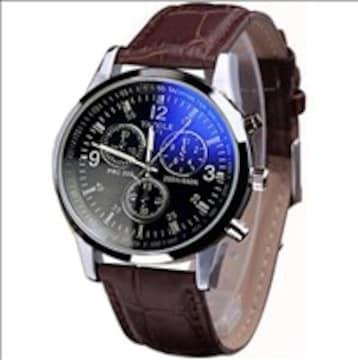 ★憧れの的★ 腕時計 クオーツ メンズ ブラウン
