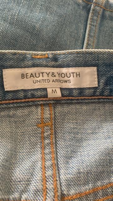 BEAUTY&YOUTH ユナイテッドアローズ デニムミニスカート M < ブランドの