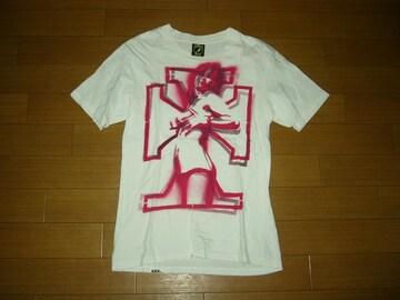 HYSTERIC GLAMOUR XXXヒステリックグラマーTシャツS白ガール