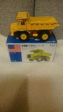 貴重!当時モノ 青箱トミカ テレックス33-07 ダンプ 1/119 日本製