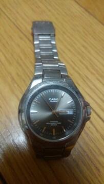 格安 CASIO腕時計 日付曜日付き
