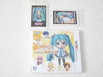 3DS★初音ミク and Future Stars Project mirai ARカード15枚付