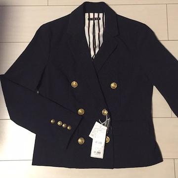 新品タグ付き☆INGNI☆紺☆ダブルテーラージャケット☆イング
