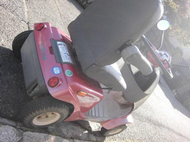 ヤマハ 4輪セニアカー マイメイト 使用頻度少 綺麗 < ヘルス/ビューティーの
