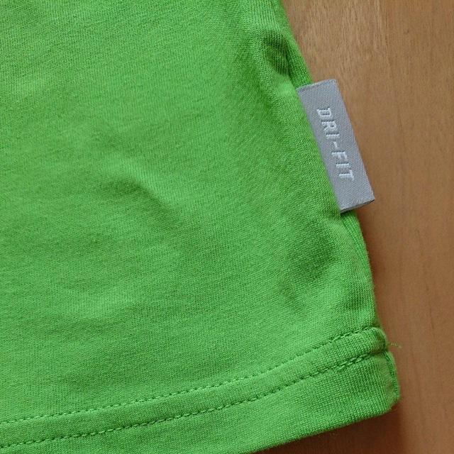 新品TシャツM黄緑 ナイキ NIKE < ブランドの