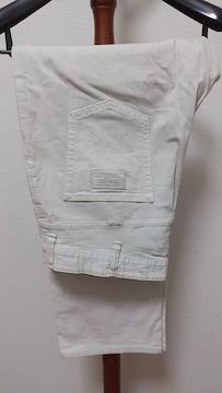 即決 送料込み ラングラー ホワイトジーンズ 大きいサイズ