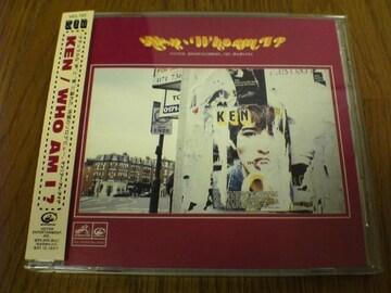 KEN CD WHO AM I ? ケン(ZI:KILL)廃盤