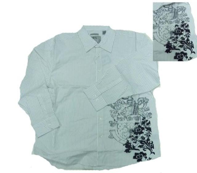 4XLB (XXXXL) ビッグサイズ シャツ 新品XXXXLB ワイドリラックス  < 男性ファッションの