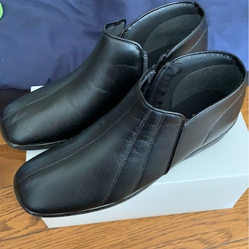 カジュアル★シンプル★靴★黒★サイズ24