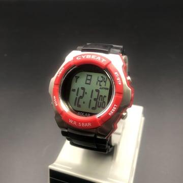 即決 CYBEAT ソーラー 腕時計