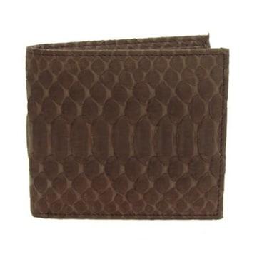 パイソン折財布T3298-PYニコチン