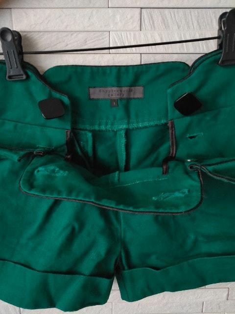 イーハイフンワールドギャラリー 綿 ショートパンツ グリーン 1 < ブランドの