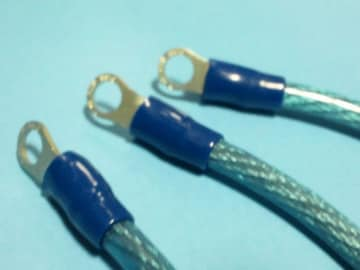 [AO9]新品アーシングライン3本set シグナスX XJR400 CB400 ZRX等