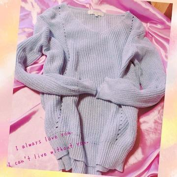 【クローゼット整理】煌めき☆*゚空色セーター...♪*゚